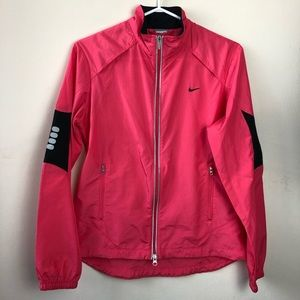 Nike Size M Long Sleeve Windbreaker Jacket